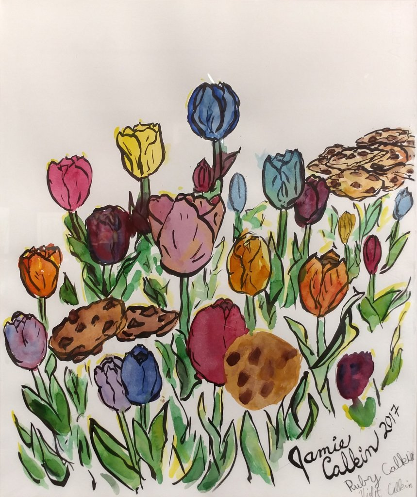 Tulips and Cookies